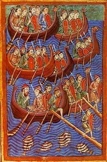 Vikings embarking on a denial of service attack – source Wikipedia